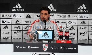 RIVER: CONFERENCIA DE PRENSA DE GALLARDO